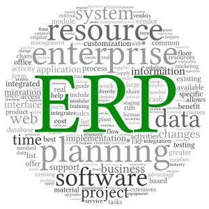 19841732 - enterprise resource planning system crm in word tag cloud